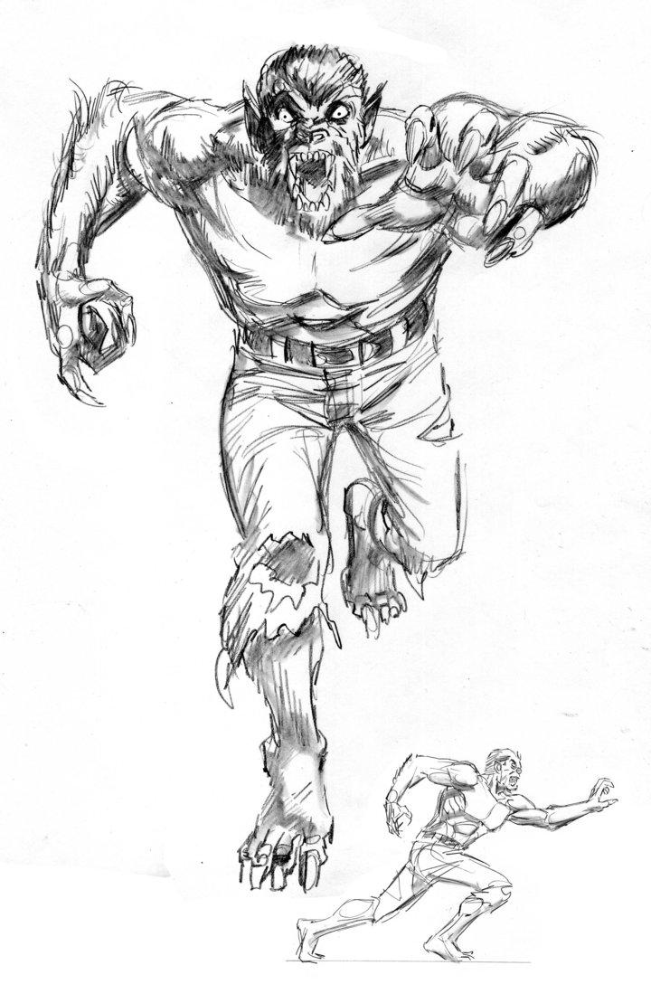 720x1109 Werewolf By Night By Kevhopgood
