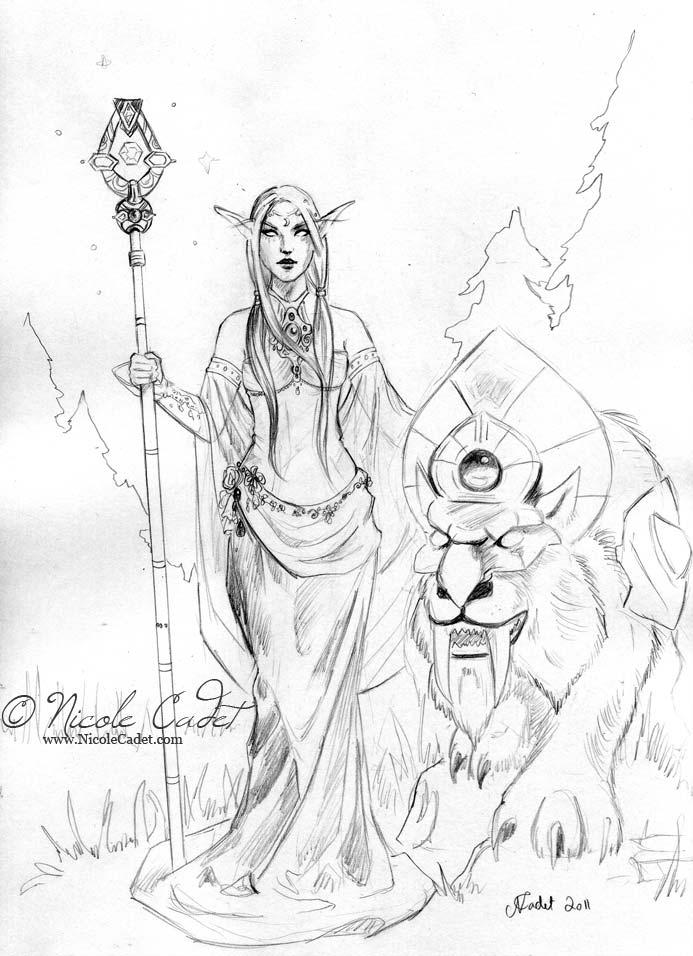 693x956 World Of Warcraft Drawings