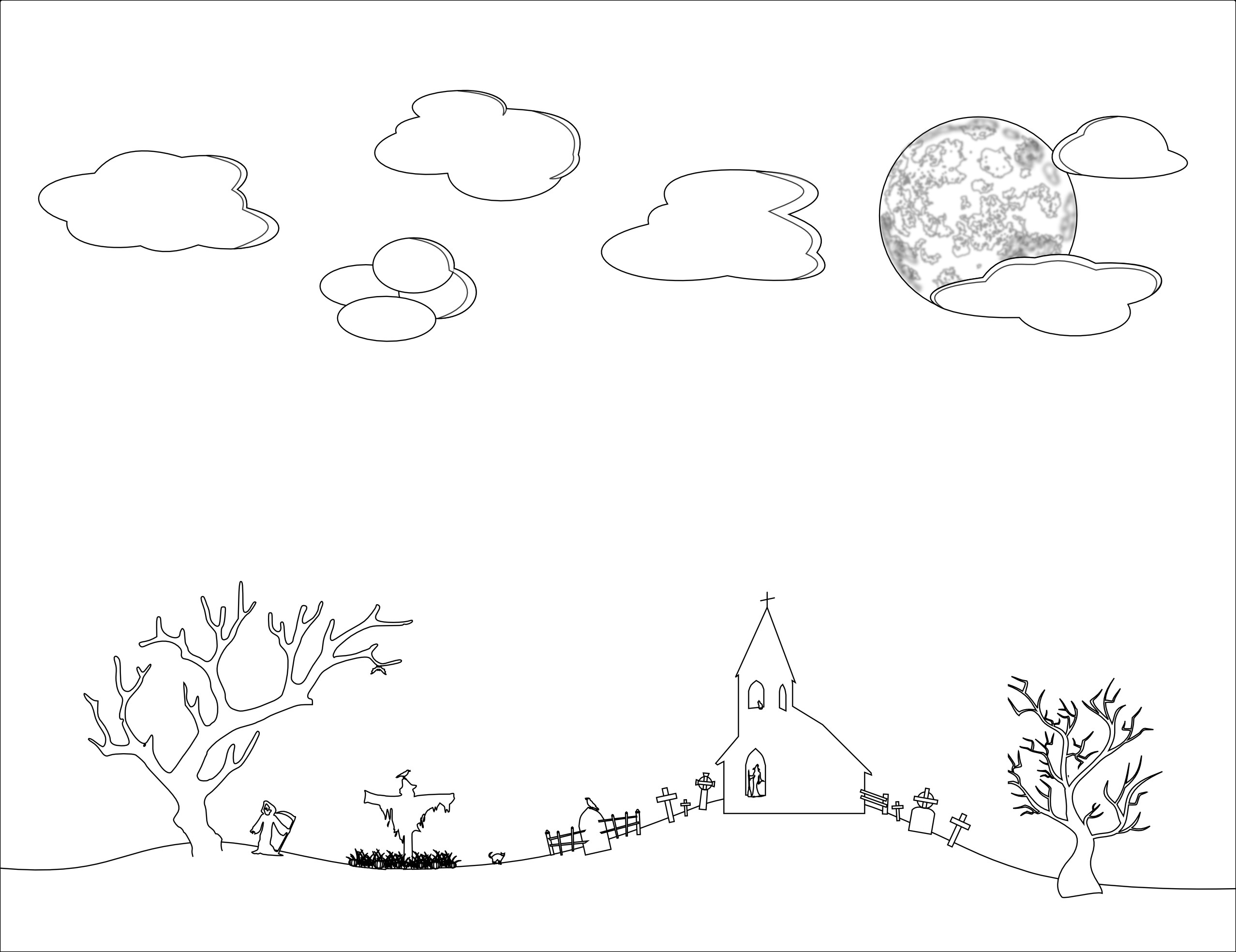 2555x1968 Night Coloring Pages Lovely Superb Night Sky Clip Art Black