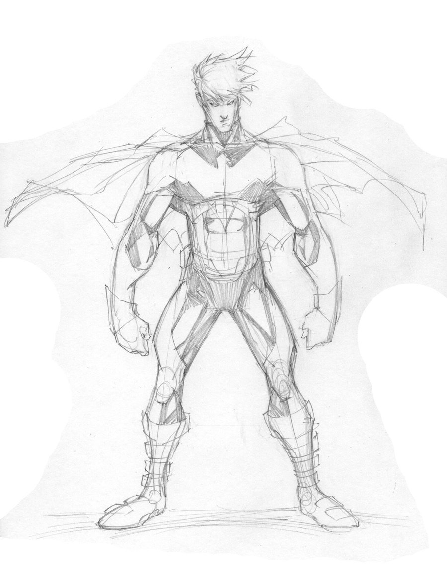 900x1171 One Man Revolution Art Amp Thoughts Nightwing