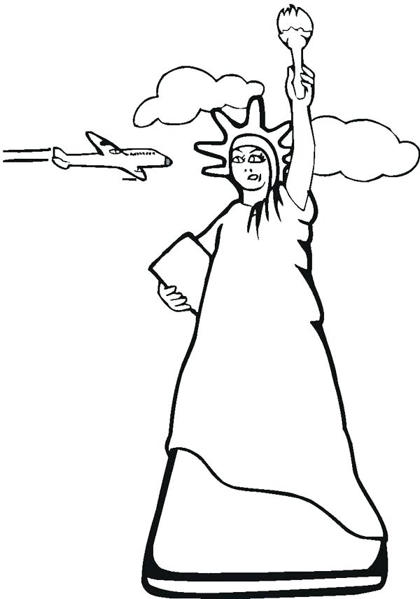 600x856 Air Force One Coloring Sheets