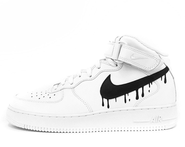 719x573 Born Originals Nike Air Force 1 Dripping Swoosh (Star Strapped