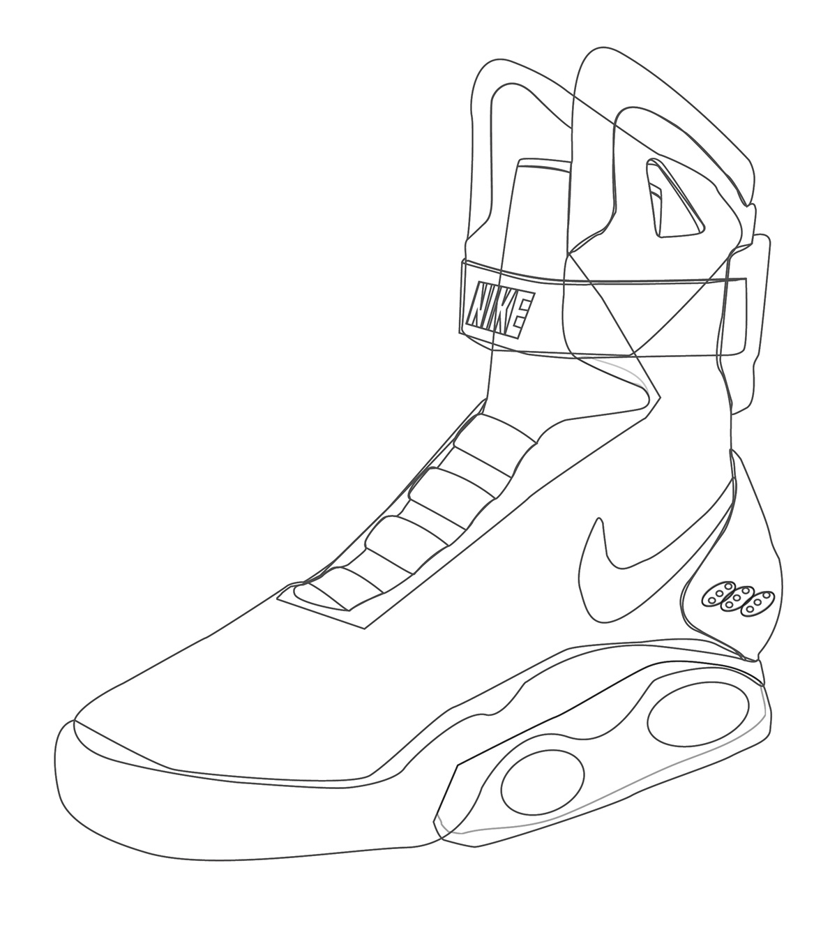 1200x1333 Nike Air Mag On Student Show