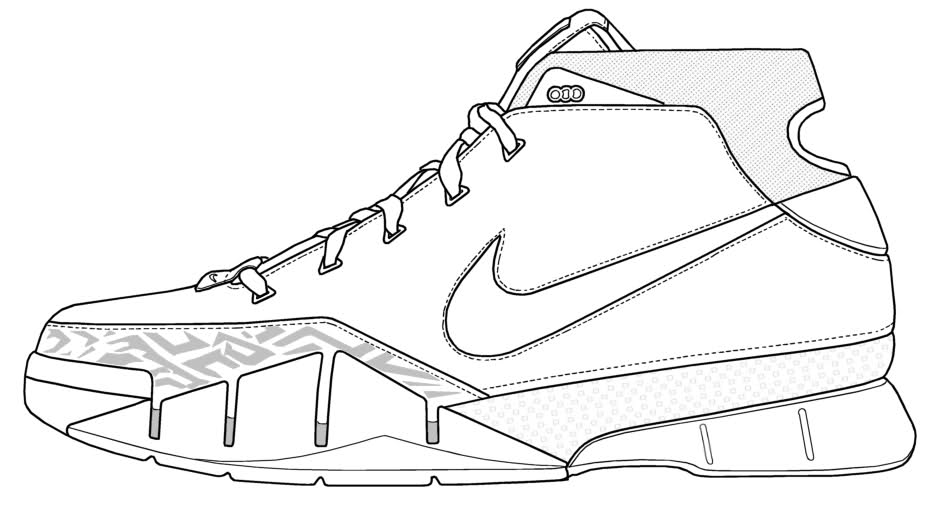 Ideal Nike Shoe Drawing at GetDrawings.com | Free for personal use Nike  IC84