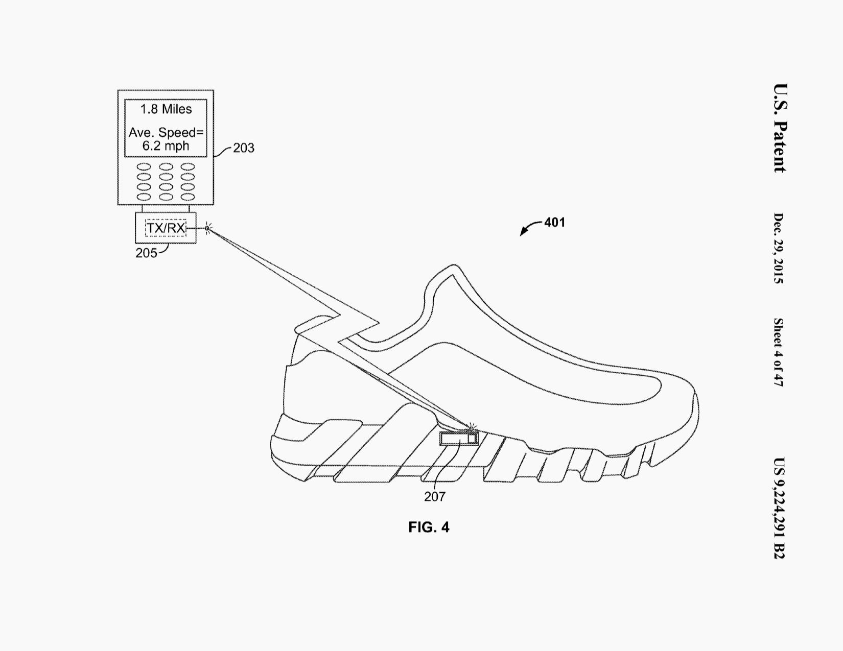 Nike Sneaker Drawing