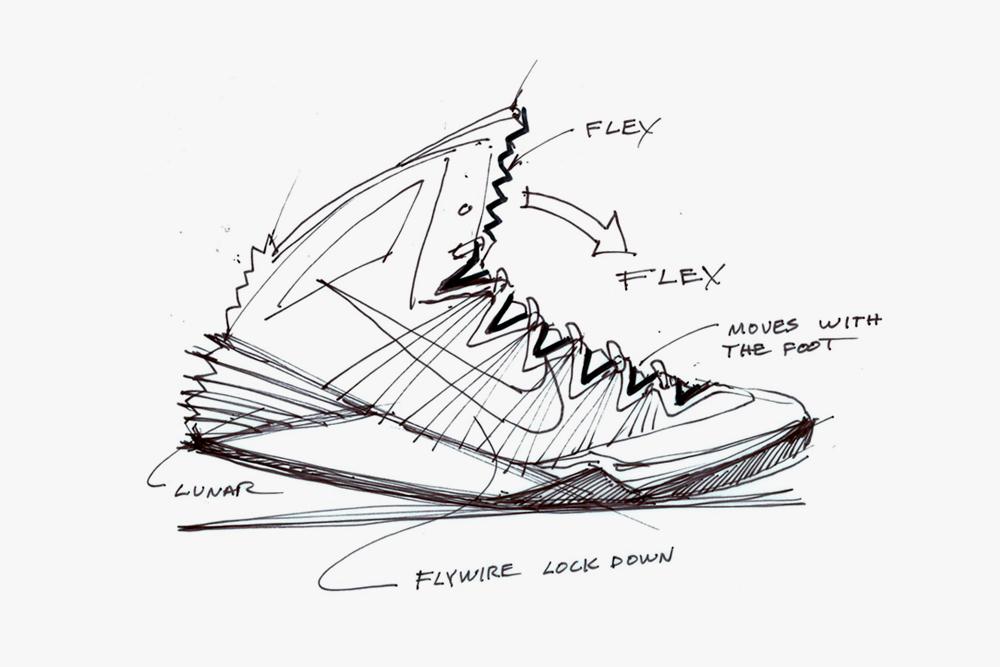 Nike Sneakers Drawing at GetDrawings Free for