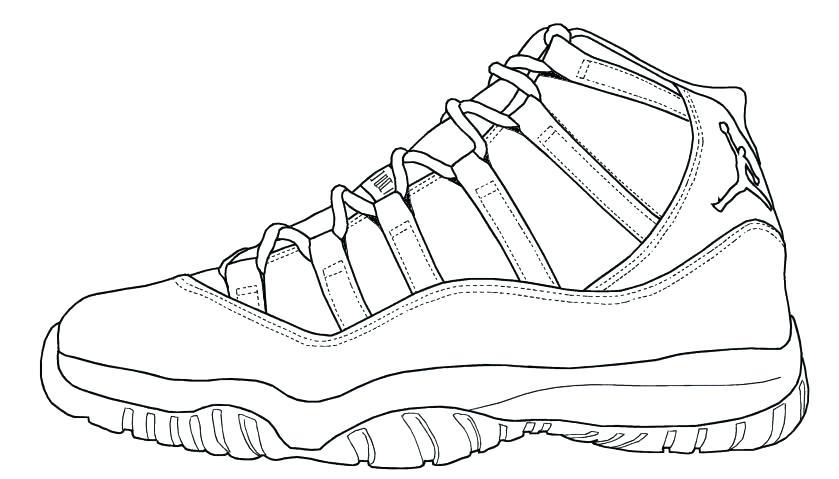 Nike Sneakers Drawing
