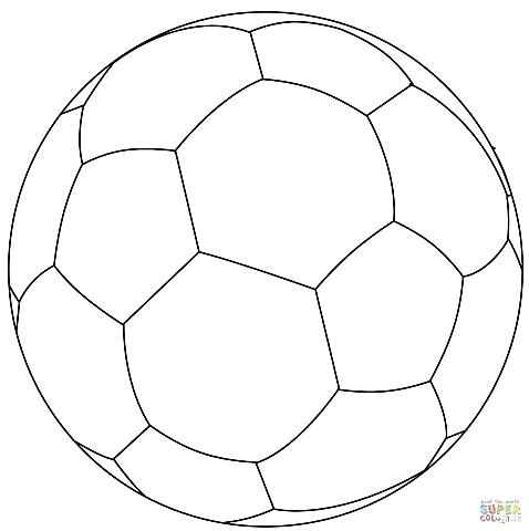 478x480 Nike Soccer Ball Coloring Pages Page Amazing Sheet With Balls