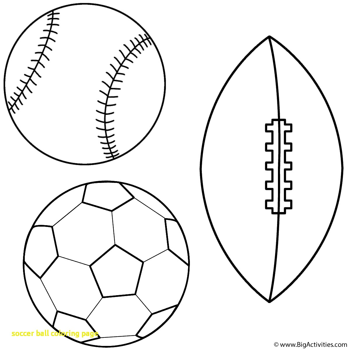 1200x1200 Soccer Ball Coloring Page With Soccer Ball Coloring Pages