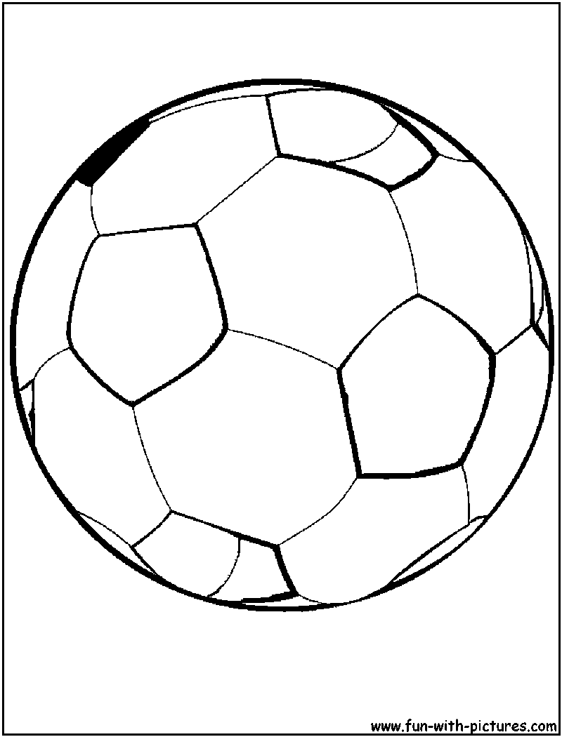 800x1050 Soccer Ball Coloring Pages