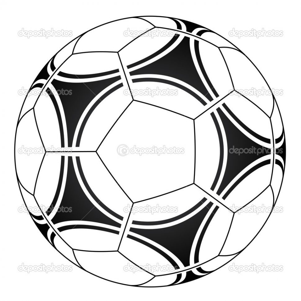 970x970 Trend Coloring Pages Of Soccer Balls Best Design