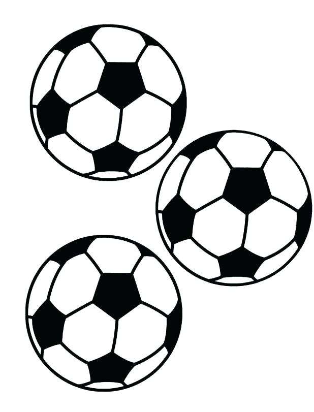 618x811 Soccer Ball Coloring Pages Sendflare.co