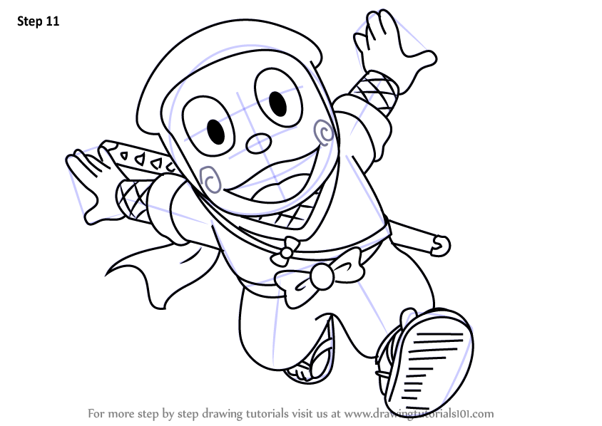 844x598 learn how to draw kanzo hattori from ninja hattori ninja hattori