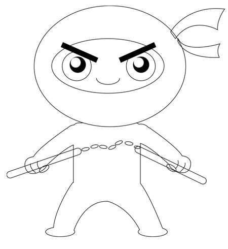 Ninja Cartoon Drawing At Getdrawings Com Free For Personal Use