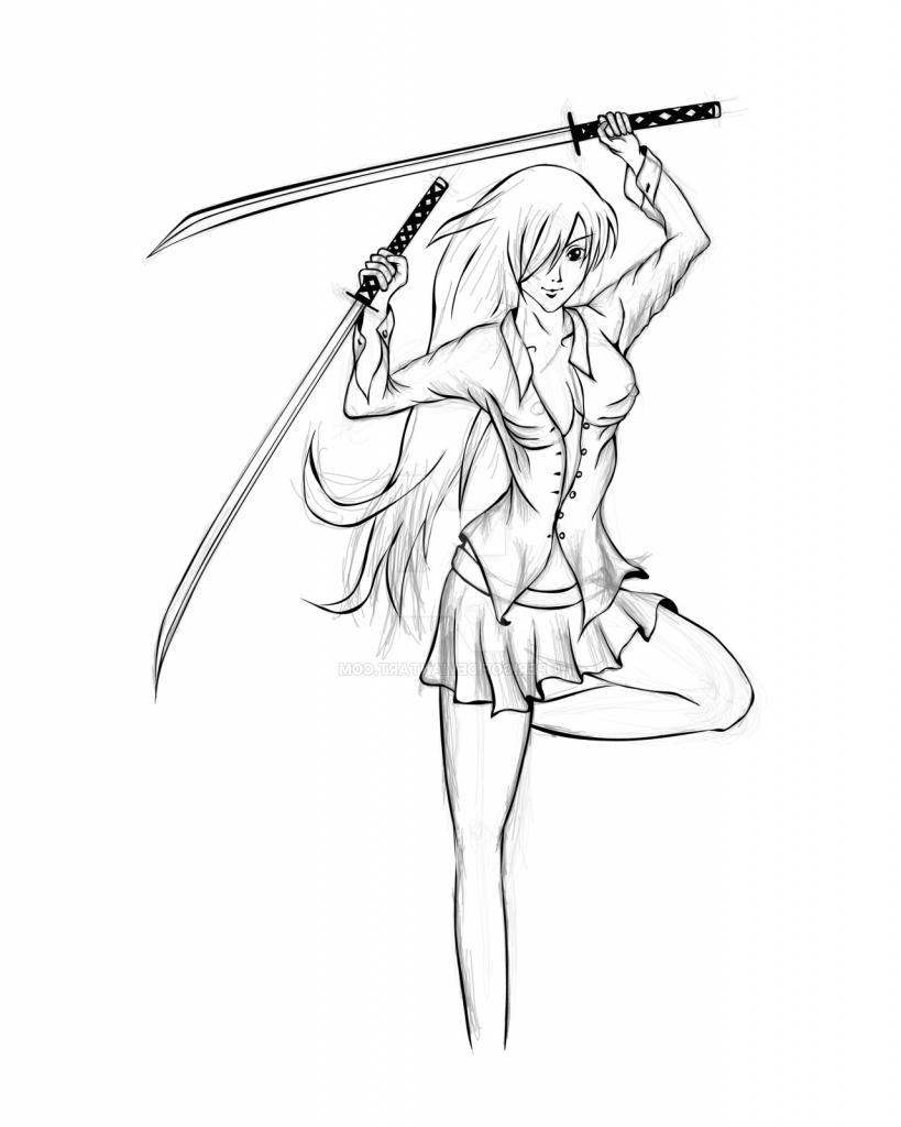 819x1024 Anime Ninja Sketches In Pencil Anime Ninja Drawings Anime Ninja