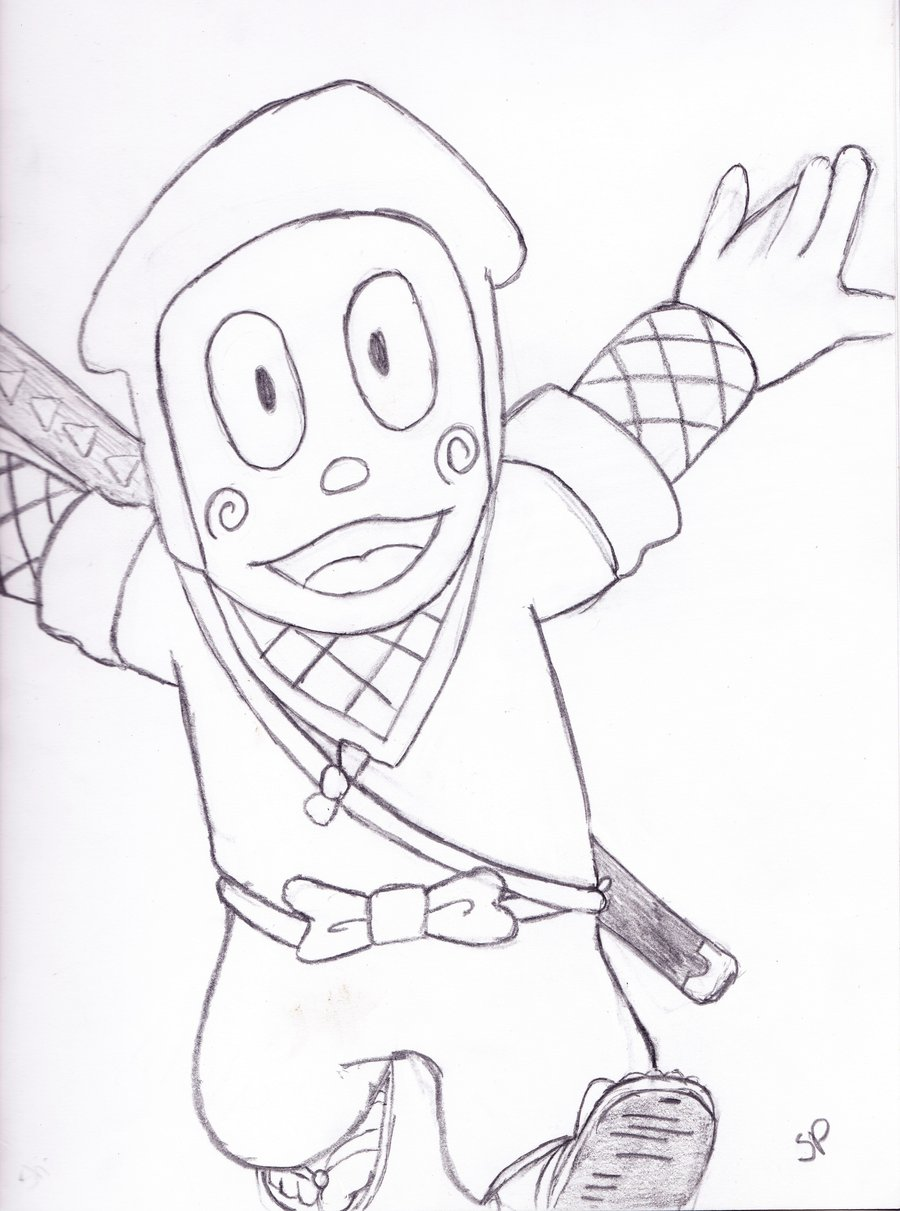 Ninja Drawing For Kids at GetDrawings.com | Free for personal use ...