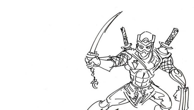 free ninja star coloring pages - photo#17