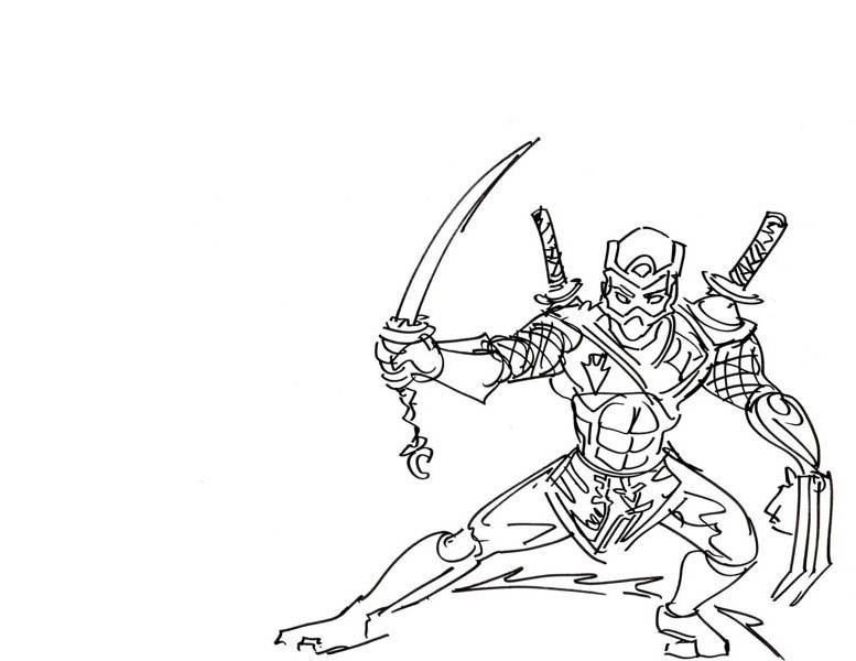 Ninja Sword Drawing at GetDrawings.com | Free for personal use Ninja ...