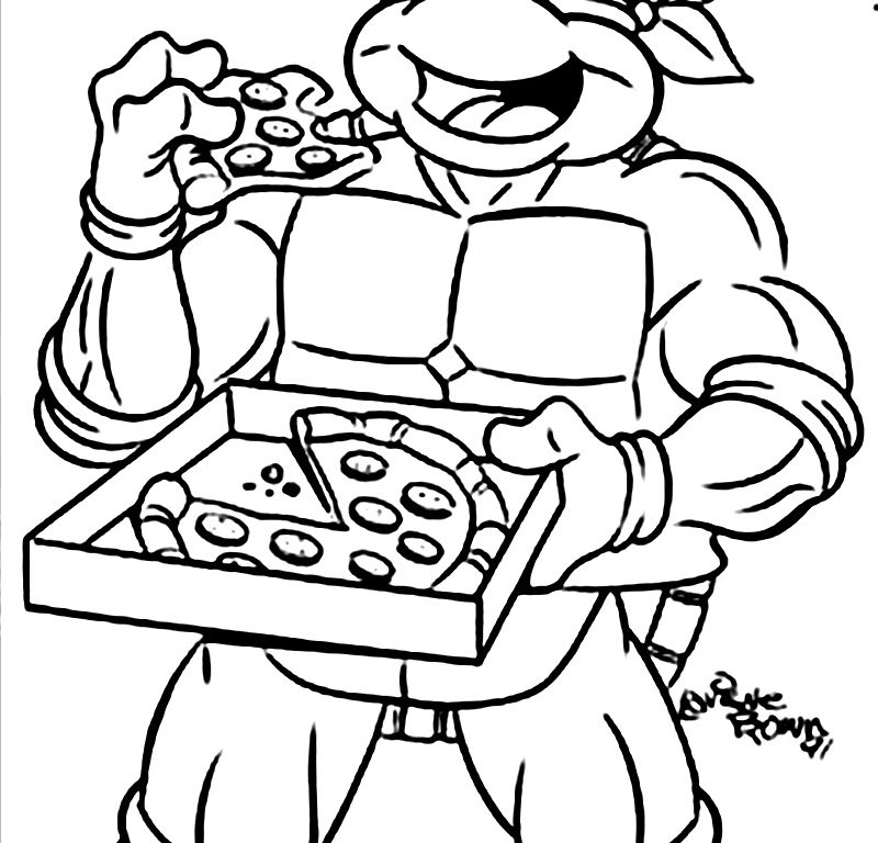 Ninja Turtle Drawing at GetDrawings.com | Free for personal use ...
