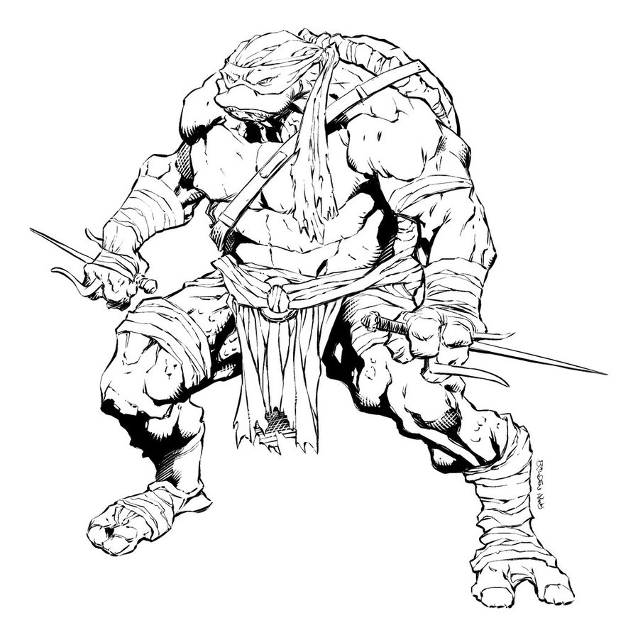 ninja turtle drawing at getdrawings com free for personal use