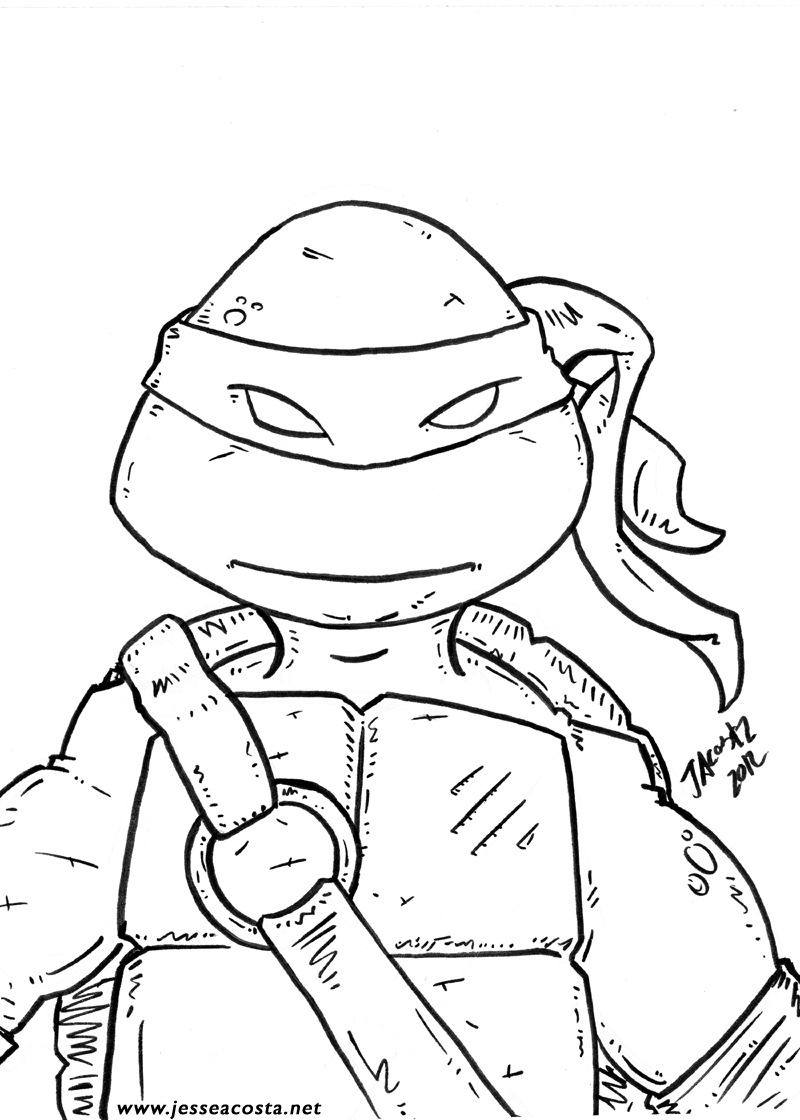 ninja turtle face drawing at getdrawings | free for personal use