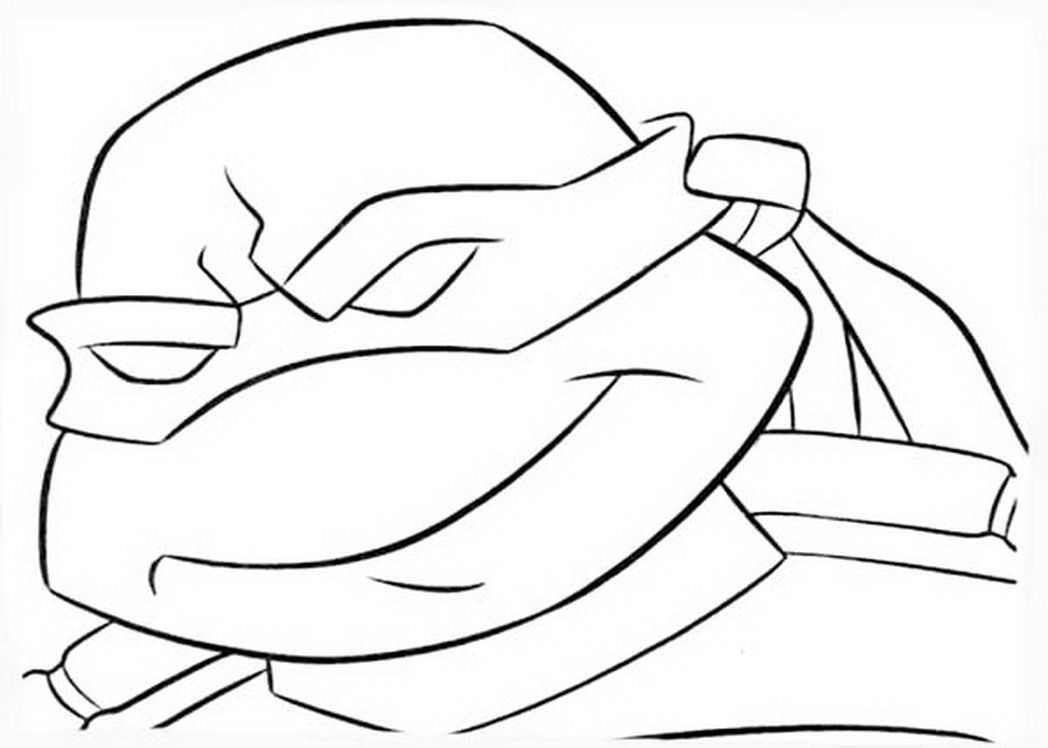 1048x748 teenage mutant ninja turtles mask coloring page free printable