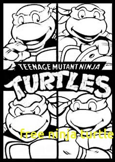 Ninja Turtle Face Drawing at GetDrawings Free for
