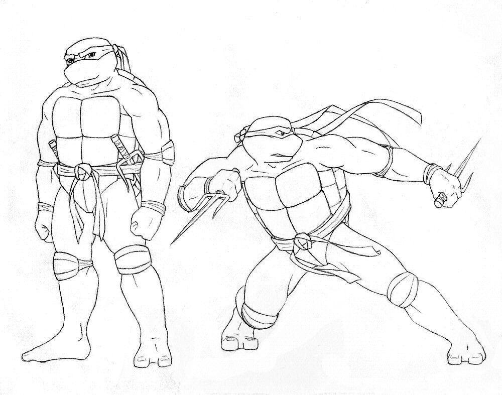 Ninja Turtle Raphael Drawing at GetDrawings.com   Free for personal ...