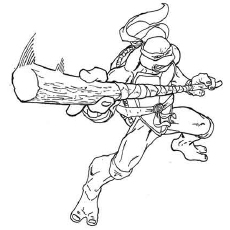 ninja turtles coloring pages characters - photo#20