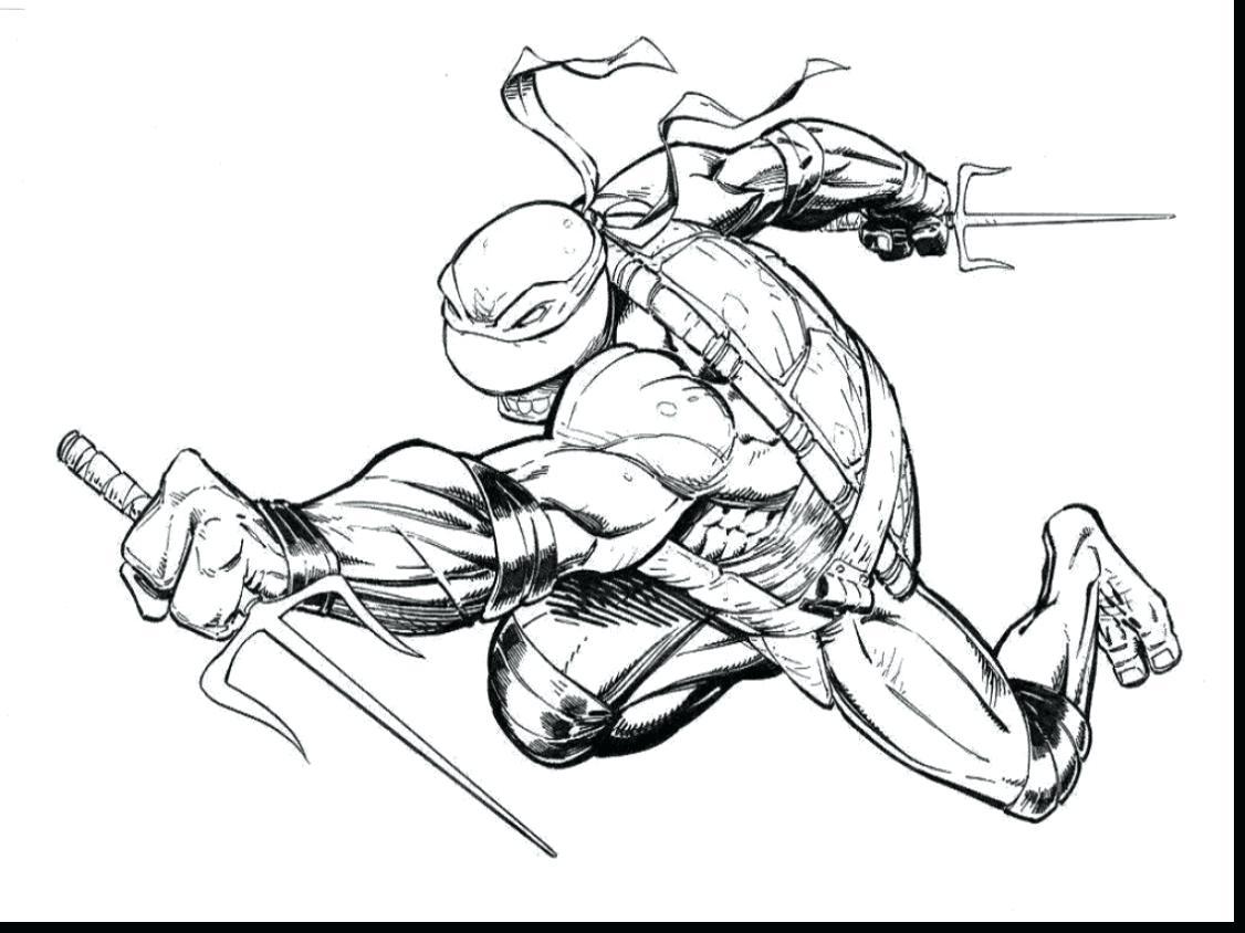 Ninja Turtles Drawing Games at