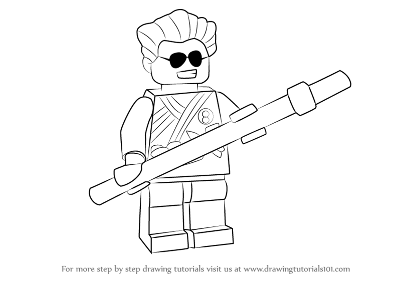 800x565 Learn How To Draw Griffin Turner From Ninjago (Ninjago) Step By