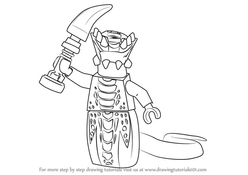 800x566 Learn How To Draw Acidicus From Ninjago (Ninjago) Step By Step