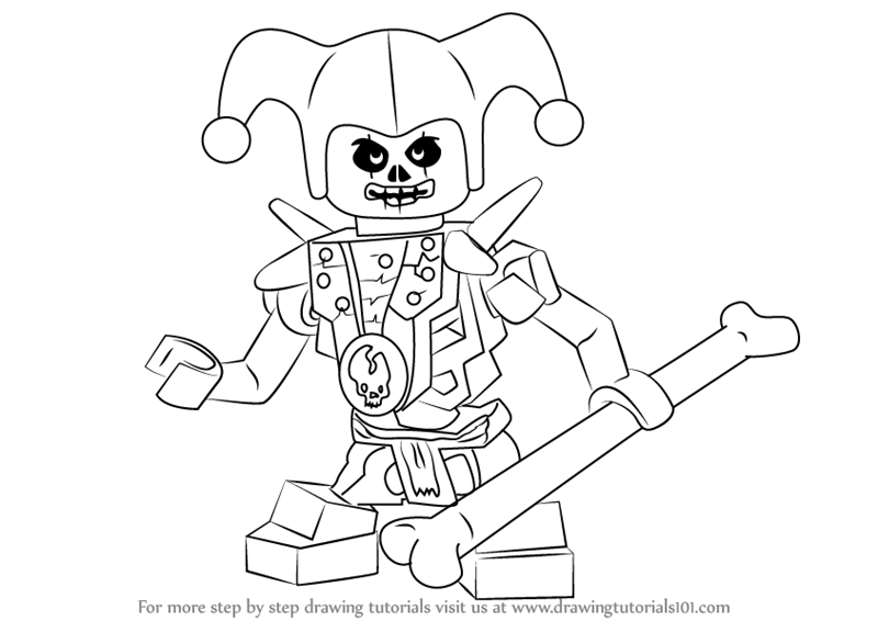 800x566 Learn How To Draw Krazi From Ninjago (Ninjago) Step By Step
