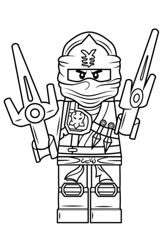 339x480 Lego Ninjago Jay Zx Coloring Page Free Printable Coloring Pages