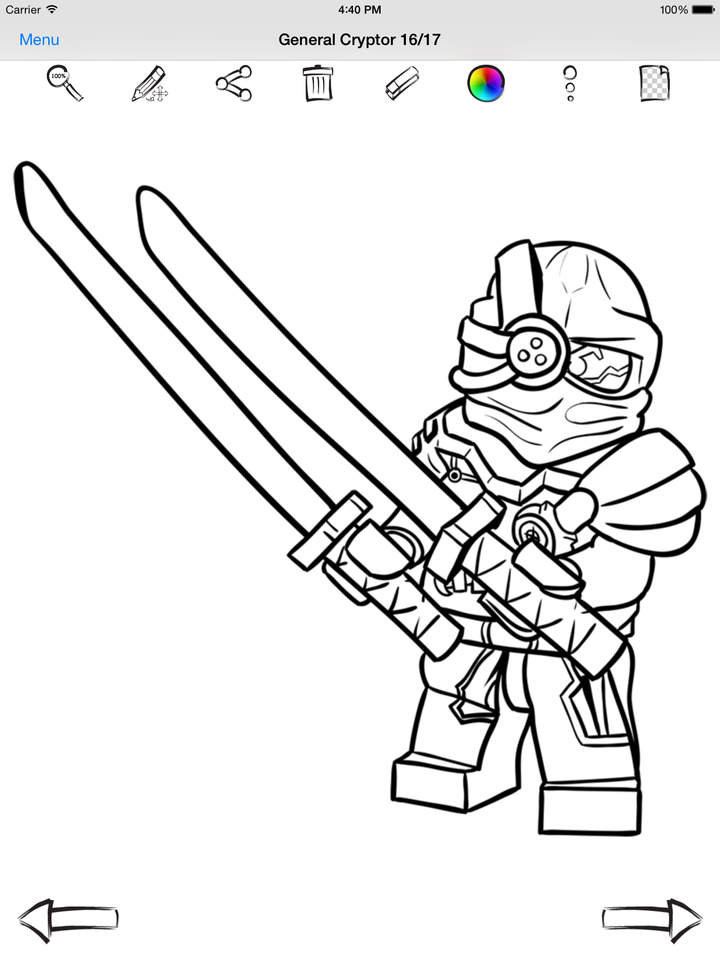 720x960 Draw And Paint For Lego Ninjago Apps 148apps