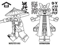 Ninjago Drawing Games