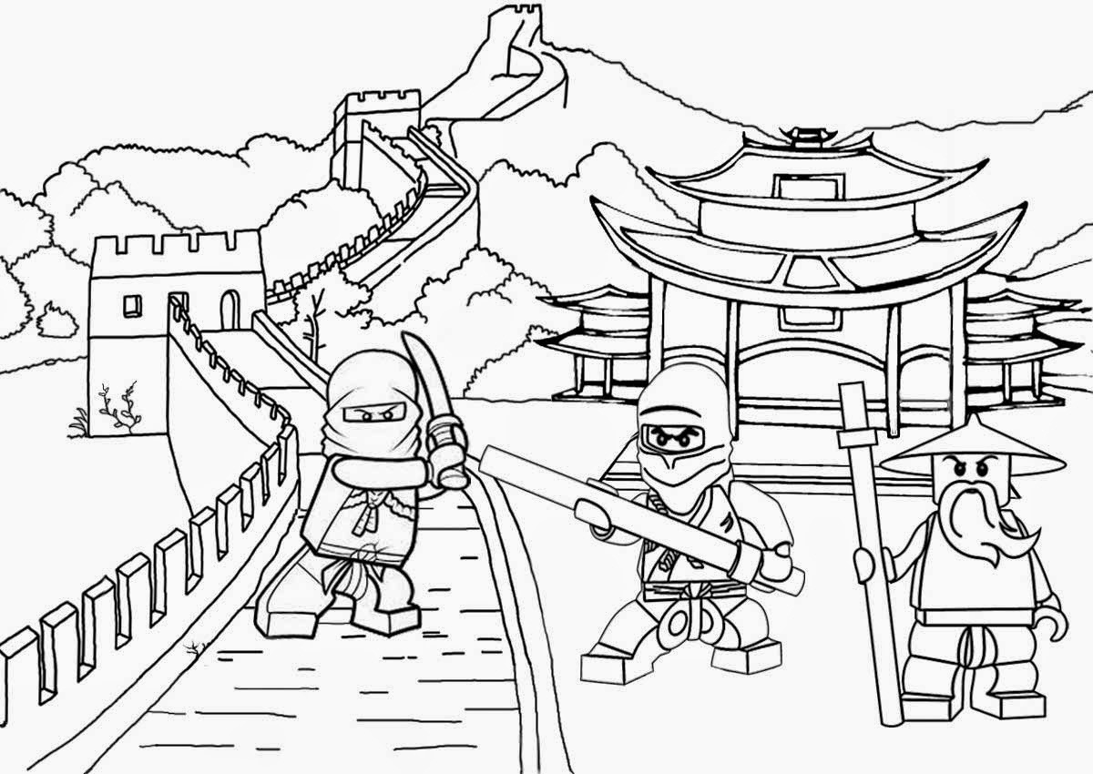 1200x850 Image Result For Ninjago Coloring Pages Coloring Pages