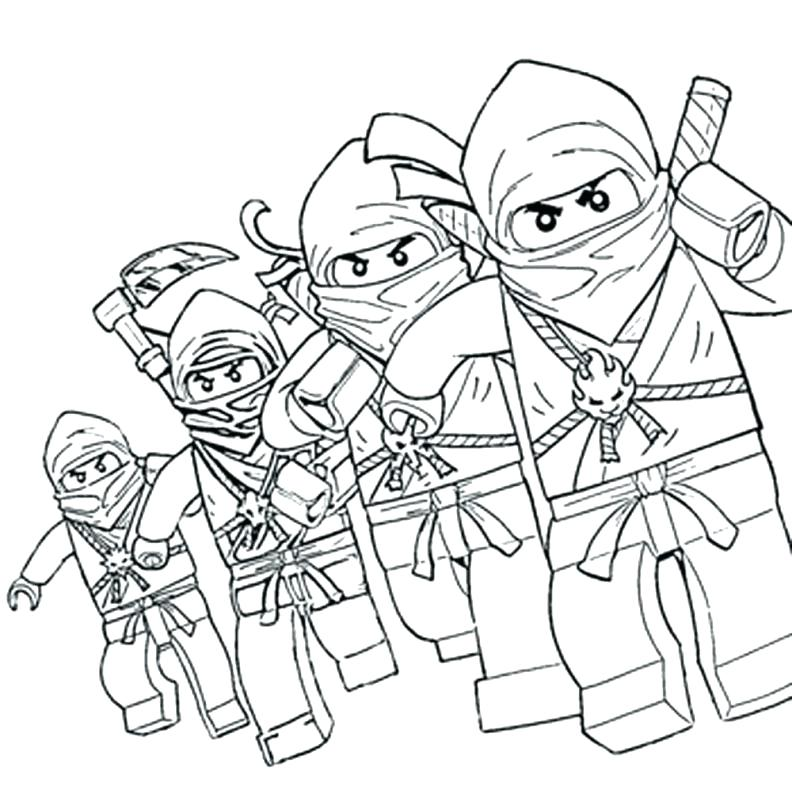 792x805 Ninjago Coloring Games Coloring Pages Large Size Of Coloring