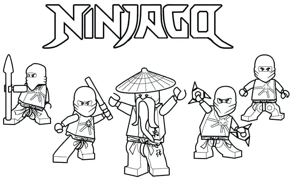 974x600 Ninjago Coloring Pages To Print 1 Coloring Pages Free Printable