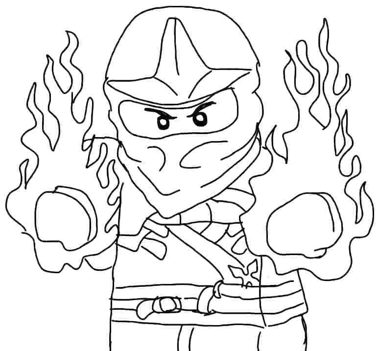 774x717 Ninjago Kai Coloring Pages Coloring Pages Coloring Pages Lofty