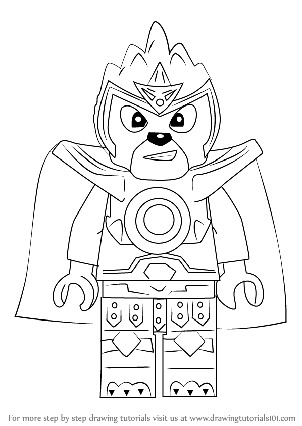 598x844 How To Draw Laval From Ninjago