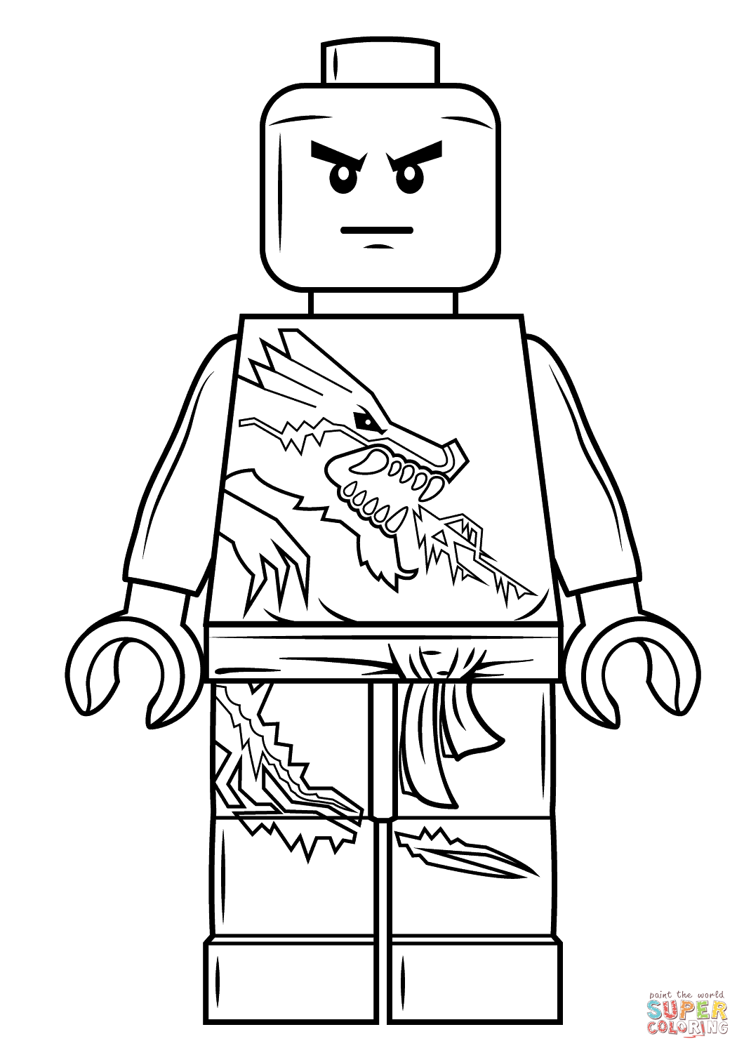 Lego Ninjago Movie Ausmalbilder : Ninjago Drawing Zane At Getdrawings Com Free For Personal Use