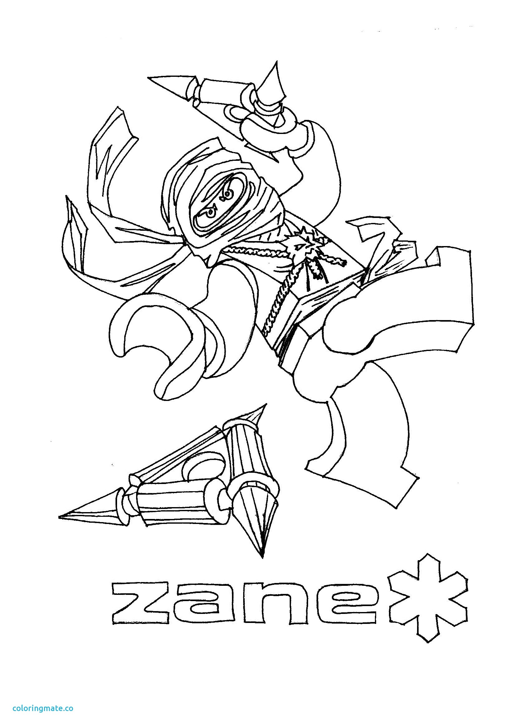 Ninjago Drawing Zane At Getdrawings Com Free For Personal Use
