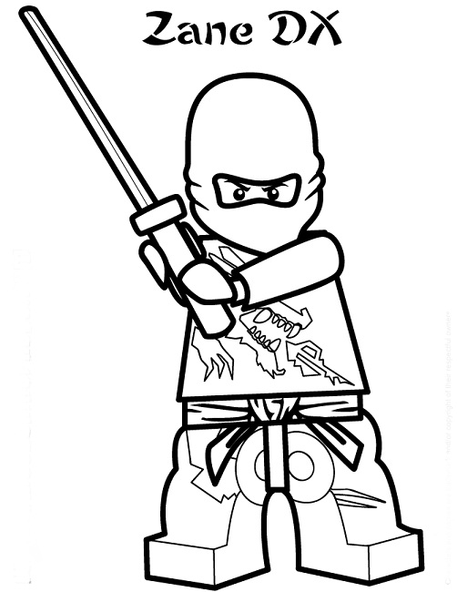 Ninjago Drawing Zane at GetDrawings | Free download