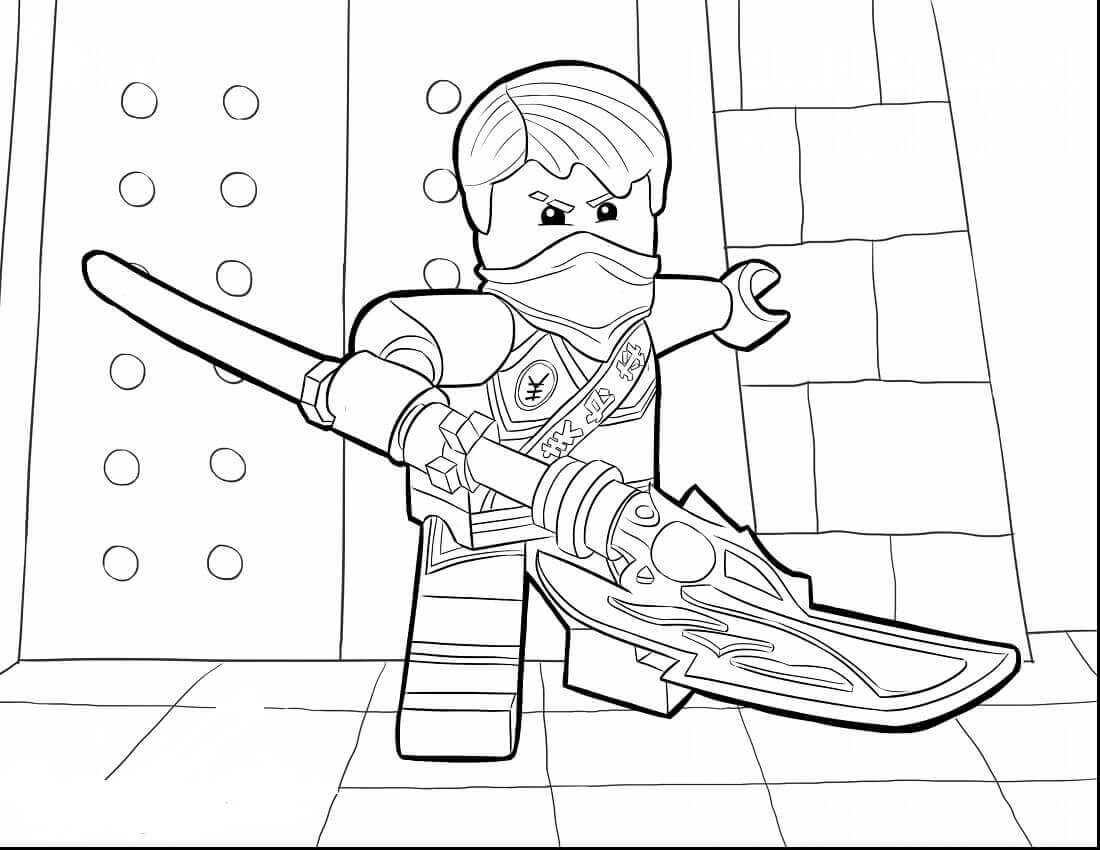 Ninjago Jay Drawing