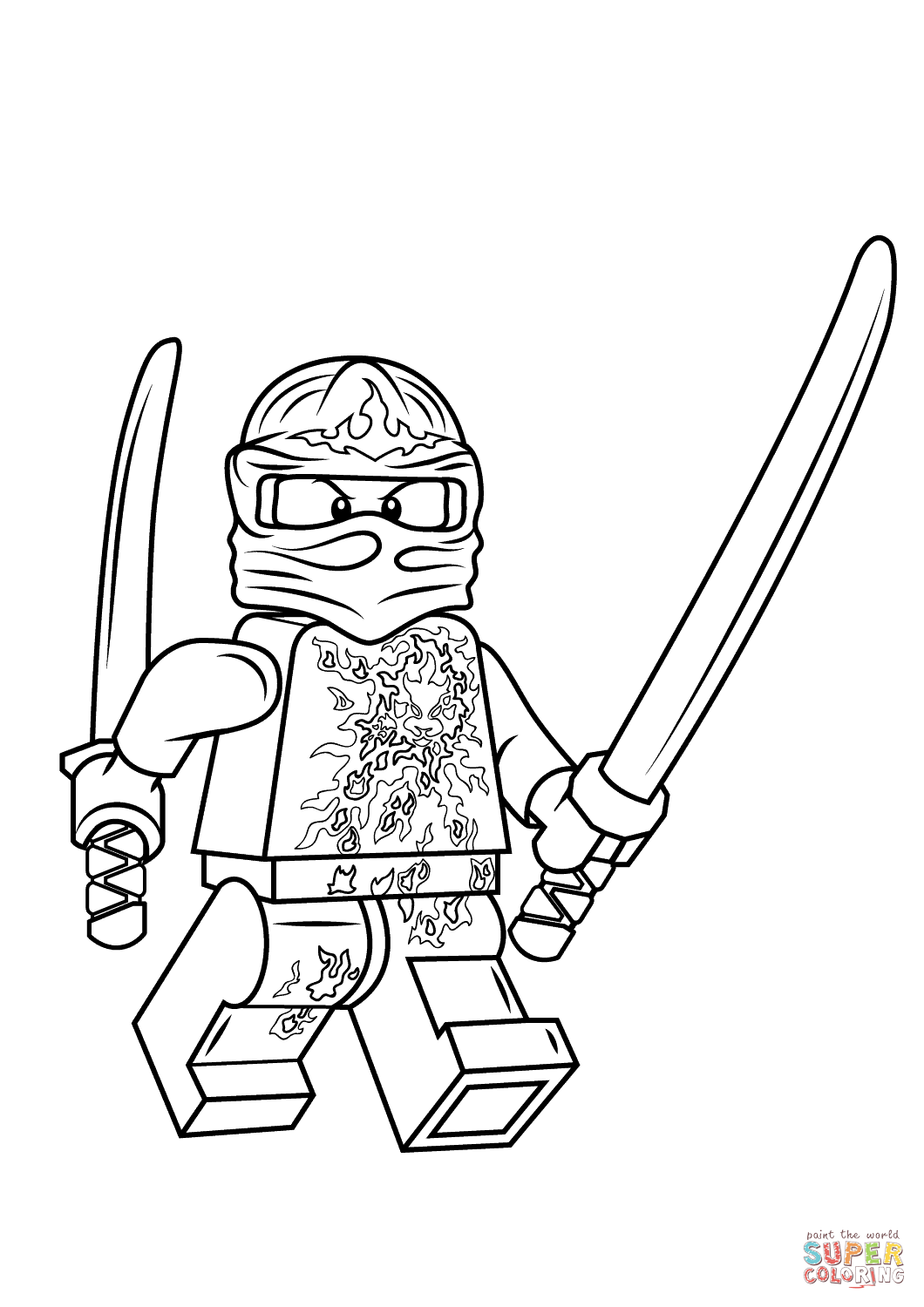 Ninjago Kai Drawing At Getdrawings Com Free For Personal Use