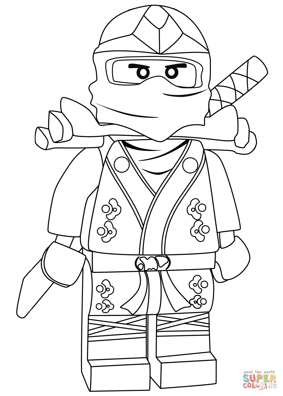 Ninjago Lloyd Drawing at GetDrawings.com | Free for ...
