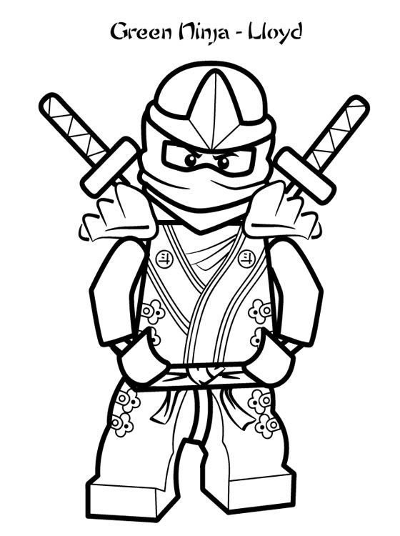560x750 Ninjago Coloring Pages LEGO Ninjago Lloyd Coloring Pages Print