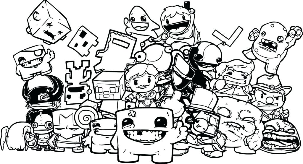 1024x555 Here Are Nintendo Coloring Pages Images