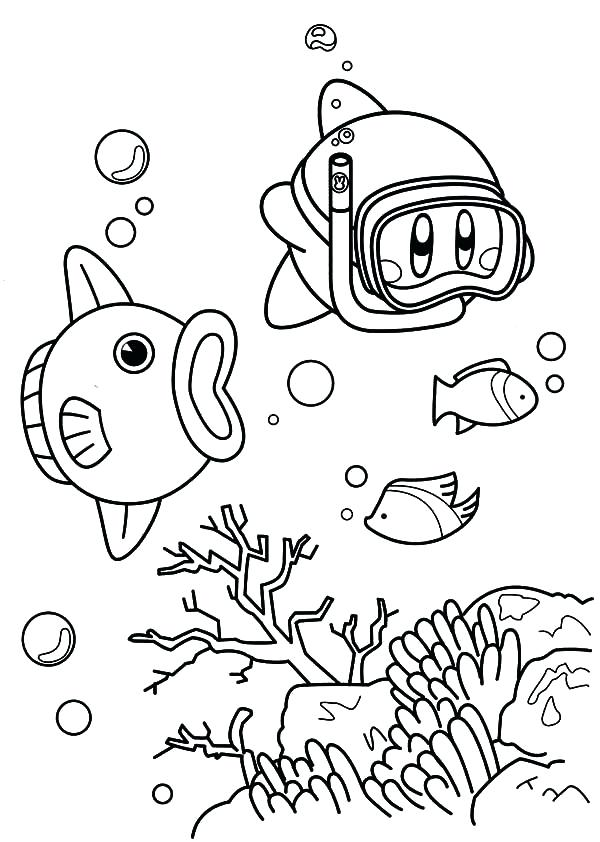 600x842 Amazing Nintendo Characters Coloring Pages Crayola Photo Printable
